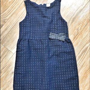 Navy toddler dress